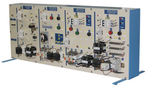 The ConsuLab CL 1718 Is Designed For Electric Motor Circuit Troubleshooting Tasks Training Panel Consists Of All Industrial Components Required To